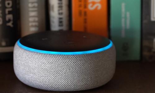 Amazon's Alexa smart speaker.